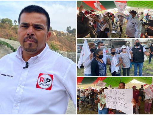 Enrique Guerrero cierra campaña entre música y apapachos de Milpa Alta y Xochimilco