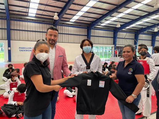 Fundación Conserva México respalda y apoya al Taekwondo poblano