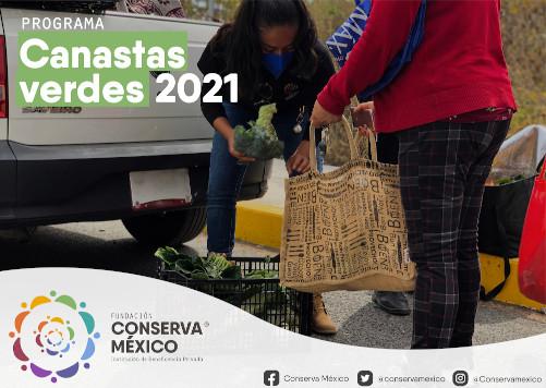 """Canastas verdes"", buenas prácticas comerciales acompañadas por Fundación Conserva México"