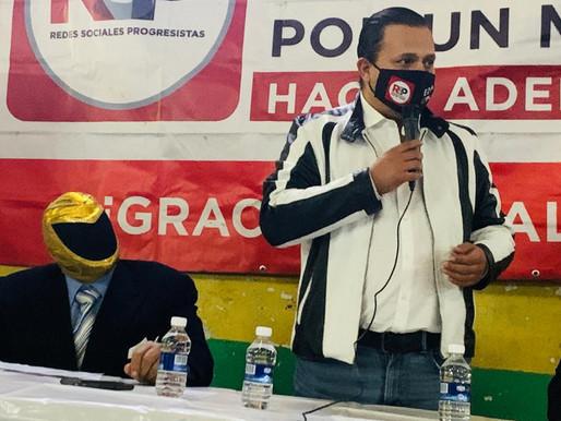"""""""Tinieblas"""" se suma a RSP en CDMX como coordinador en la Venustiano Carranza"""