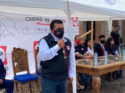 Enrique Guerrero va por Centro de Ayuda Comunitaria