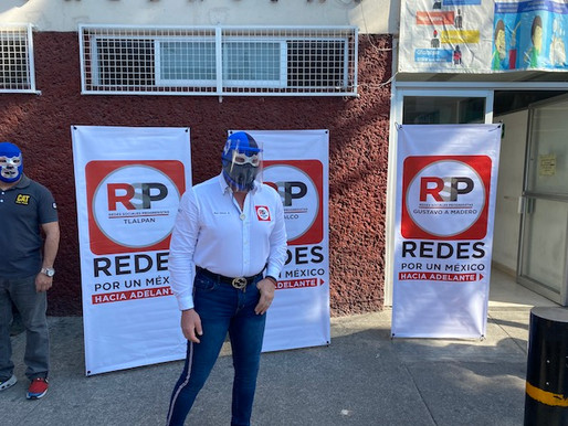 Blue Demon Jr. y RSP-CDMX alzan la voz por las carencias en Hospital General La Villa