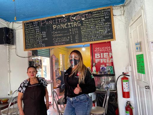 """El secreto mejor guardado de Benito Juárez: """"Pancitas Doña Chayito"""" y Yazmin García la visitó"""