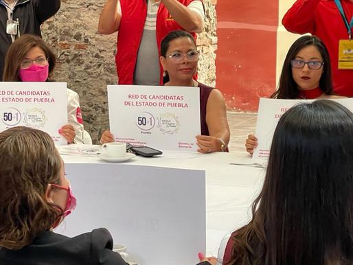 IEE de Puebla denunciado por violar los derechos de Norma Romero Cortés