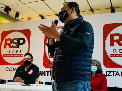 Apremia a Iztapalapa empleo, revela Pedro Pablo de Antuñano, presidente de RSP-CDMX