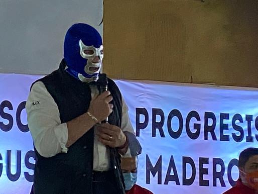 Destrozan esquemas desgastados Blue Demon Jr. y Pedro Pablo de Antuñano en la GAM