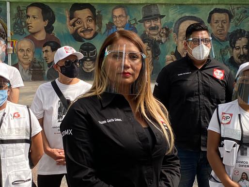 Hagamos las cosas diferentes para todas y todos en Benito Juárez: Yazmin García