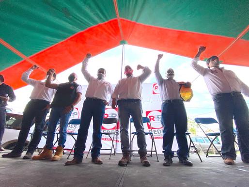 RSP-CDMX reconoce labor de Enrique Guerrero en Xochimilco y Milpa Alta