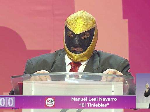 """""""Soy del pueblo y para el pueblo"""", Tinieblas destaca sus proyectos durante debate"""