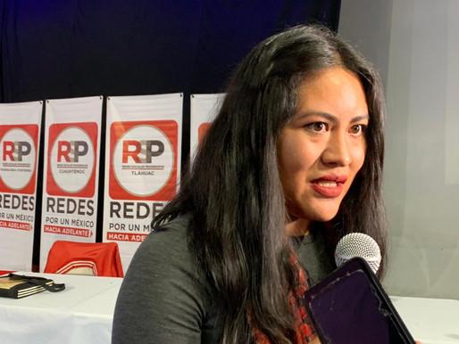 El trabajo en la Cuauhtémoc se hará con propuestas hacia las mujeres: María Velázquez