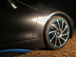 BMW i8 fitted with Alloygators