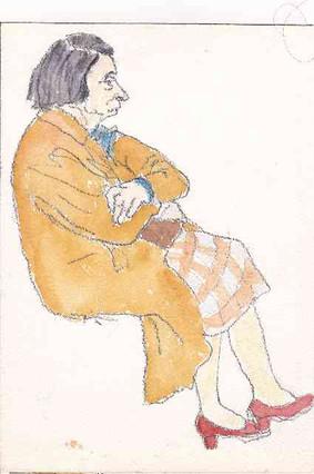 Old Woman of Paris