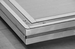 Air rectifier frame