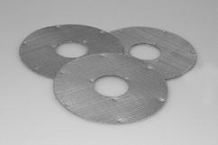 Rectangular filters with spot welding