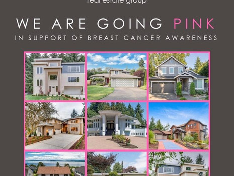 WE ARE GOING PINK!