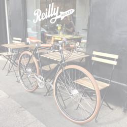 SOLD sleek men's vintage Pashley56CMS £799 ESPRESSO STOP AT REILLY ROCKET