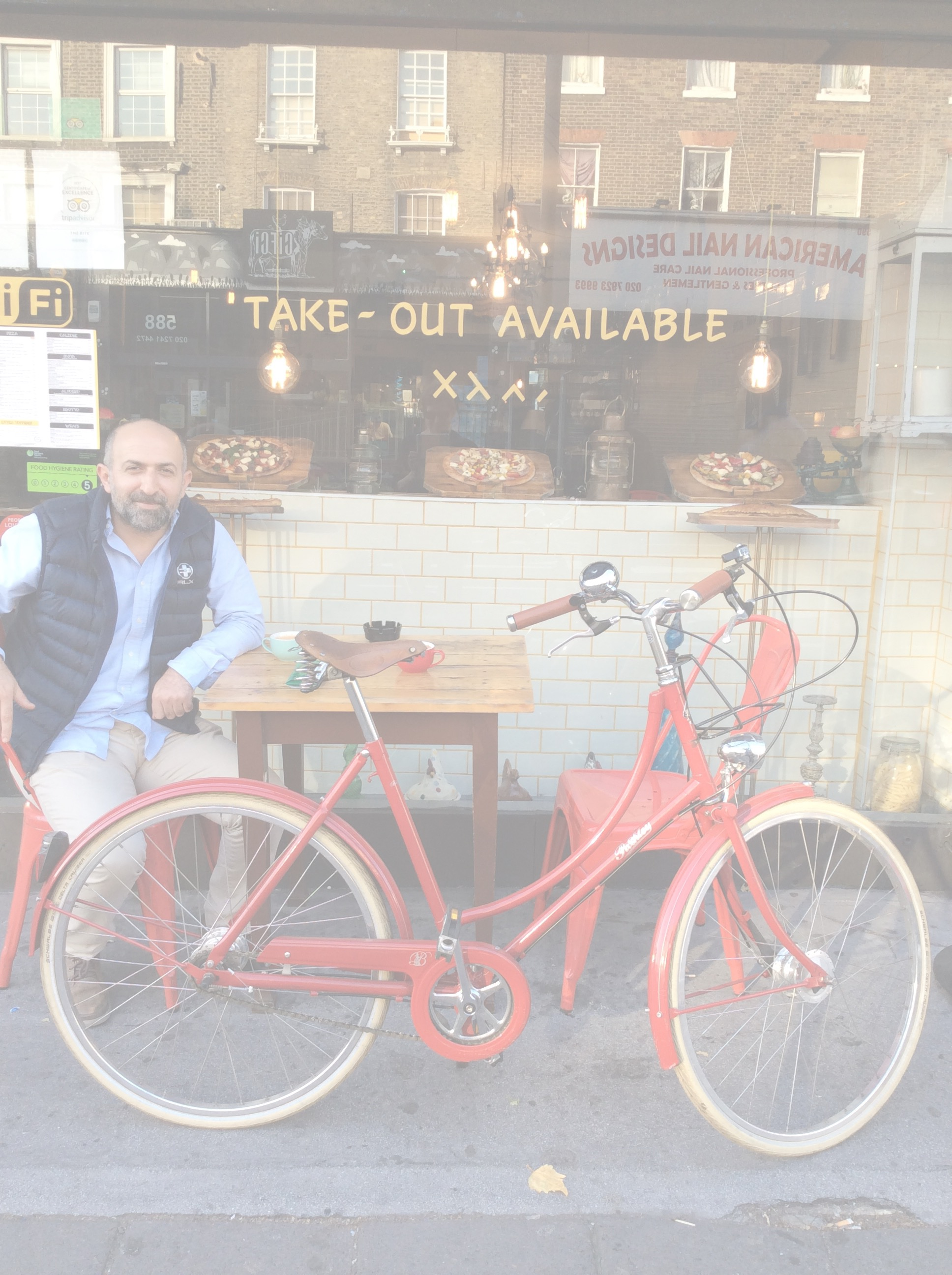 SOLD RED PASHLEY 3-SPEED 50cm (2nd hand) £295  SNACKS AT 'THE BITE'