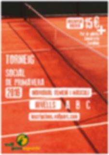 Torneig Social de Tennis de Primavera Club Esportiu Vall Parc Barcelobna