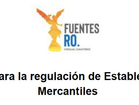 Iniciativa para la regulación de Establecimientos Mercantiles