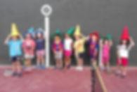 Colònies d'Estiu a Vall Parc nens tennis esport barcelona