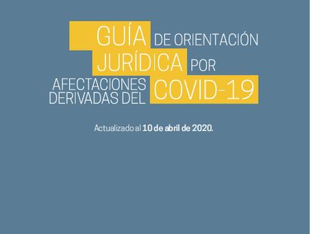 Guía de orientación jurídica por afectaciones derivadas del COVID-19