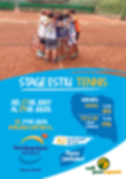 Stage tennis a Vall Parc Barcelona Esport