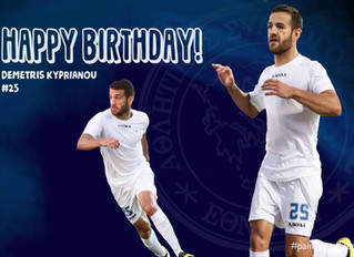 Happy Birthday Dimitris!