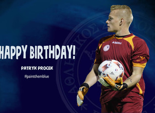 Happy Birthday Patryk!