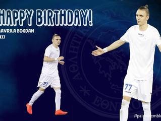 Happy Birthday Bogdan!!