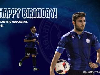 Happy Birthday Demetris!
