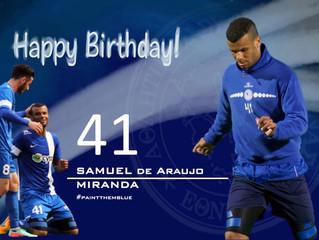 Χρόνια Πολλά Samuel!