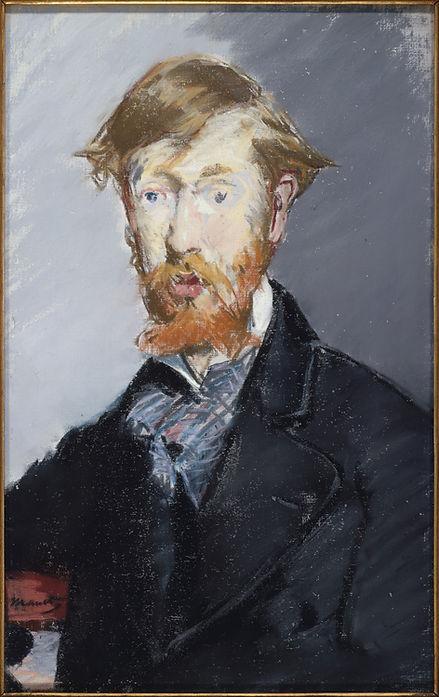 Manet, George Moore (Metroolitan Museum