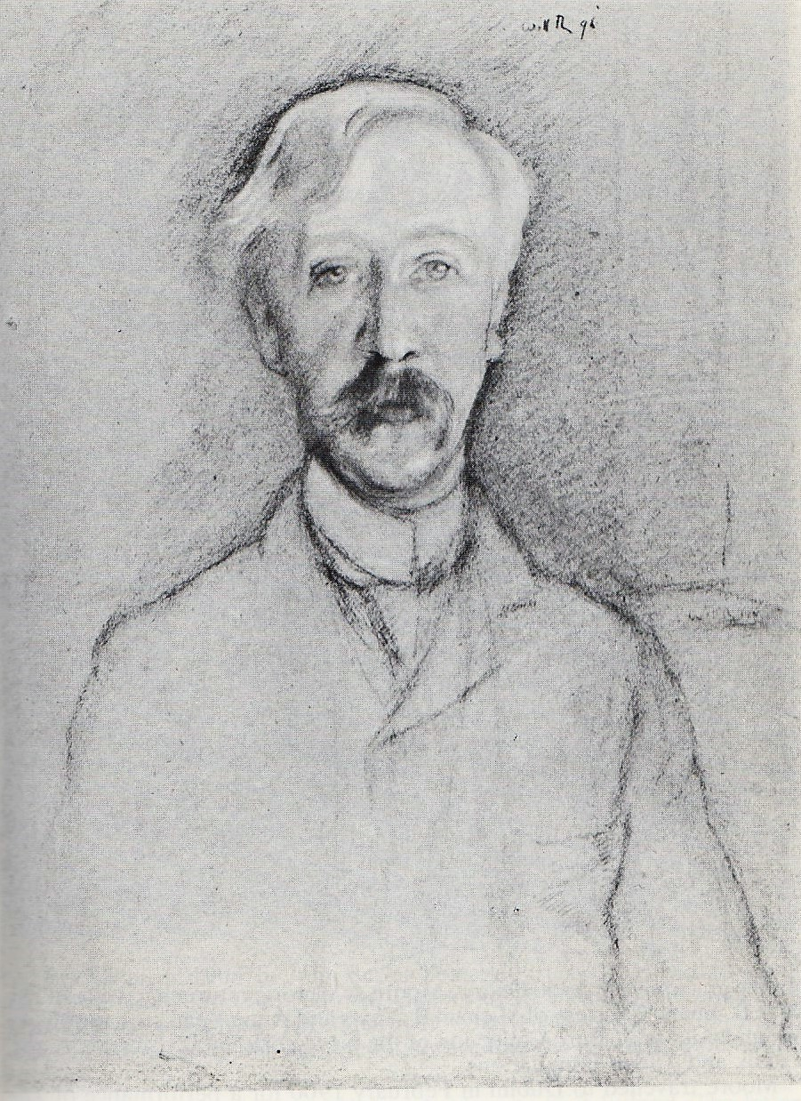 George Moore by William Rothenstein