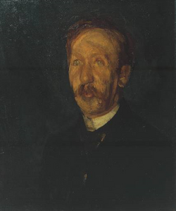 George Moore, by Walter Sickert