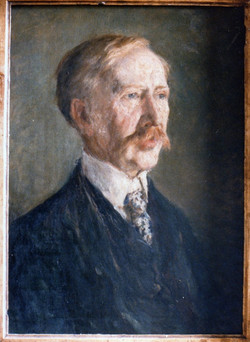 Mark Fisher portrait of George Moore