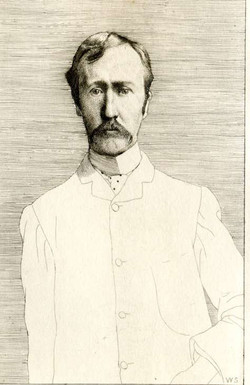 George Moore Portrait by William Strang