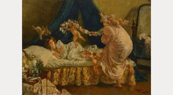 Arrival of Cupid by Henry Tonks