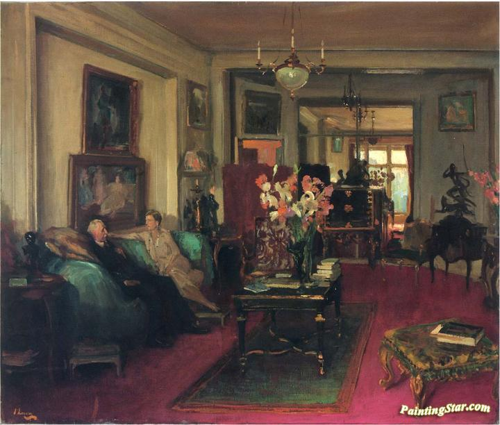 A Salon by Sir John Lavery