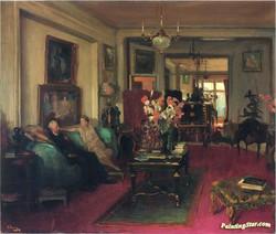 A Salon by Sir John Lavery