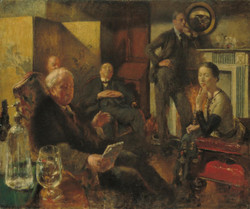 Henry Tonks - Saturday Night in the Vale