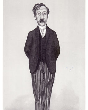 Walter Sickert, sketch of GM for VANITY