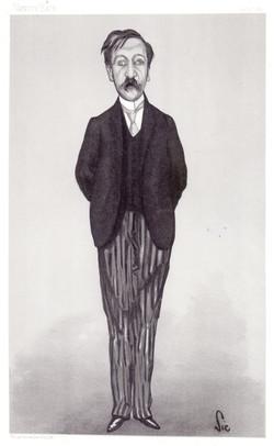Walter Sickert, sketch of George Moore