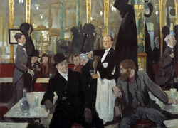 William Orpen, The Cafe Royal (London)