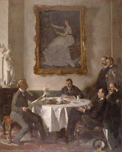 Homage to Manet by William Orpen