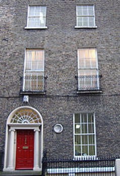 Upper Ely Place, Dublin, when GM lived t