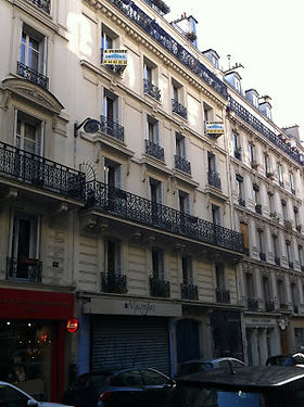 61 rue Condorcet, not far from Rat Mort
