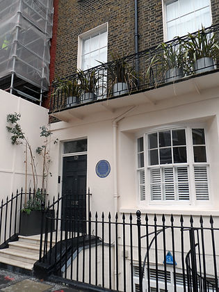 121 Ebury Street, London, GM's last Lond