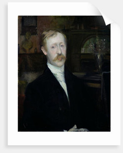 George Moore, by Jacques Émile Blanche