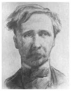 AE, sketch of George Moore