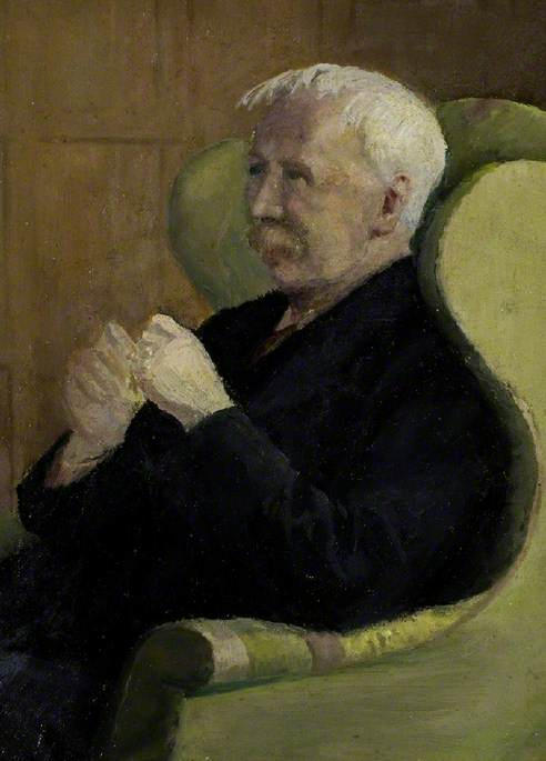 George Moore, by Frederick Leverton Harris